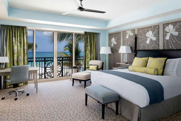 Bedroom at The Ritz-Carlton Grand Cayman