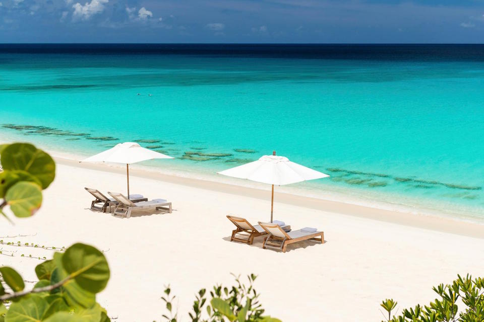 Beach at Amanyara