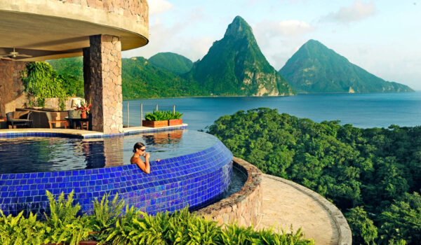 Jade Mountain, St. Lucia, a Partner Hotel of The Luxury Travel Agency