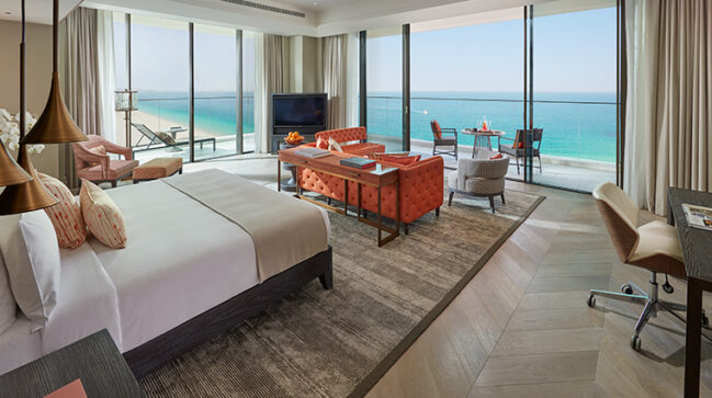 Jr. Suite at Mandarin Oriental Jumeirah, Dubai