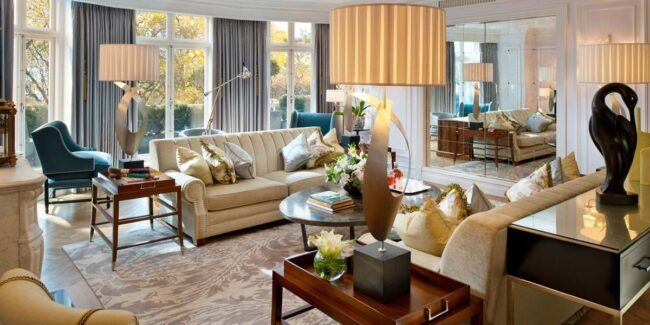 Suite at the Mandarin Oriental London, Hyde Park