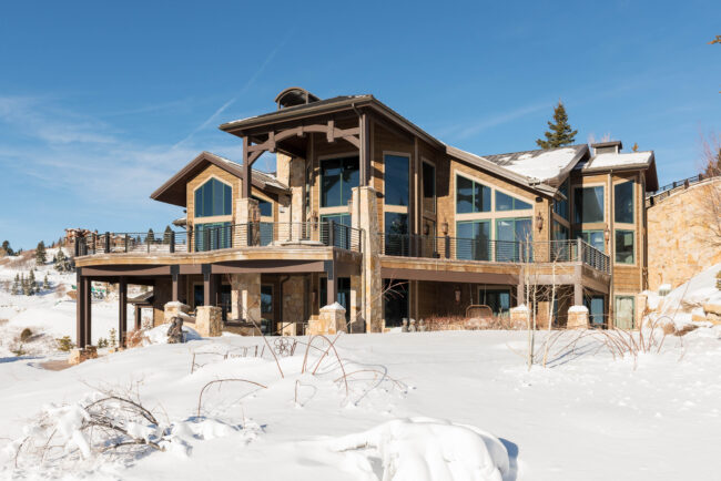 Ready for winter? Check out this private home in Utah!