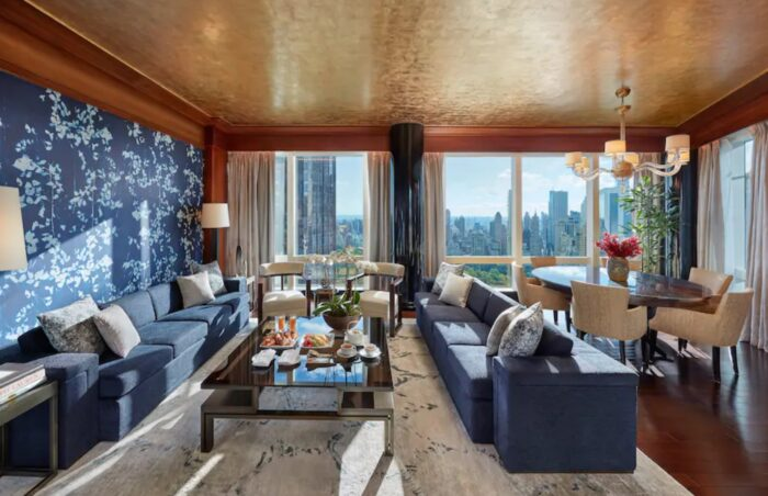 Oriental Suite at Mandarin Oriental New York, a Partner Hotel of The Luxury Travel Agency