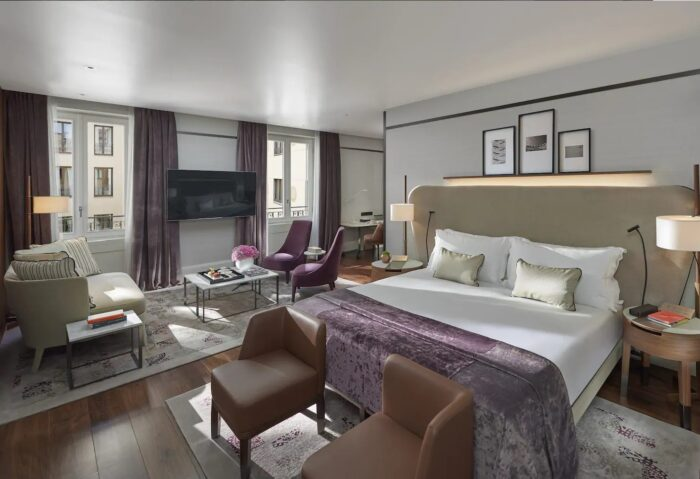 Studio Suite at Mandarin Oriental Milan, a Partner Hotel of The Luxury Travel Agency
